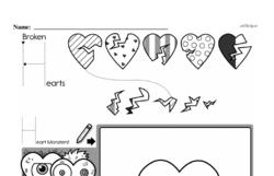 Kindergarten Math Challenges Worksheets - Puzzles and Brain Teasers Worksheet #62