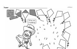 Kindergarten Math Challenges Worksheets - Puzzles and Brain Teasers Worksheet #83