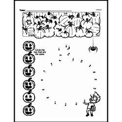 Kindergarten Math Challenges Worksheets - Puzzles and Brain Teasers Worksheet #79
