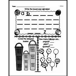 Free Measurement PDF Math Worksheets Worksheet #109