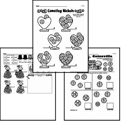 Money Math Workbook (all teacher worksheets - large PDF)