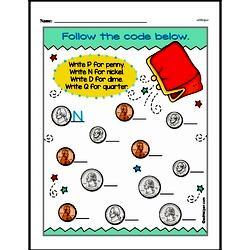 Money Worksheets - Free Printable Math PDFs Worksheet #32