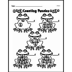 Money Worksheets - Free Printable Math PDFs Worksheet #96