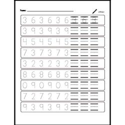 Number Patterns and Practice Writing Numbers