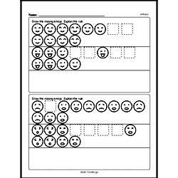 Pattern Worksheets - Free Printable Math PDFs Worksheet #106