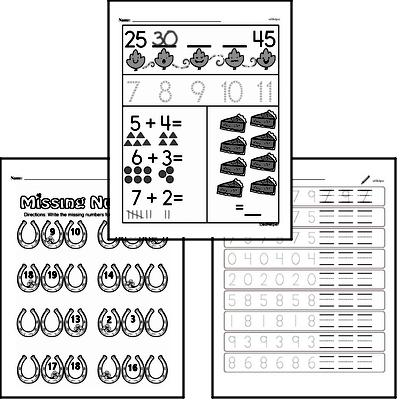 free kindergarten patterns pdf worksheets. Black Bedroom Furniture Sets. Home Design Ideas