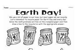 Kindergarten Subtraction Worksheets Worksheet #49