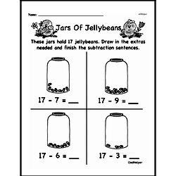 Kindergarten Subtraction Worksheets Worksheet #47