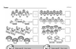 Kindergarten Subtraction Worksheets Worksheet #28