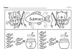 Subtraction Worksheets - Free Printable Math PDFs Worksheet #354