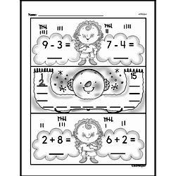 Kindergarten Subtraction Worksheets Worksheet #41