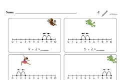 Subtraction of Two (Up to 10)