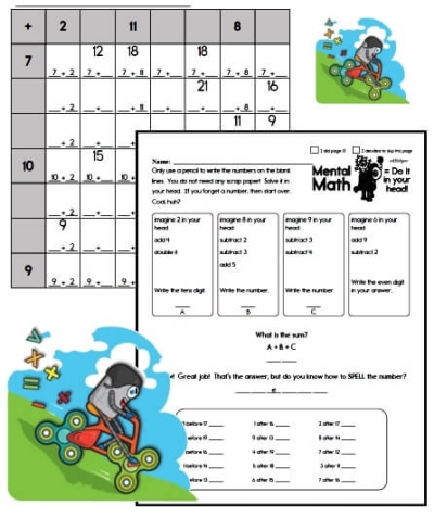 Free Kindergarten PDF Worksheets | edHelper com