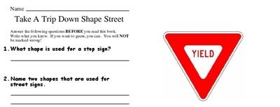 Take A Trip Down Shape Street