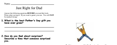Just Right for Dad