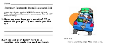 Summer Postcards from Blake and Bill