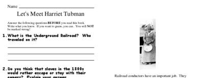 Let's Meet Harriet Tubman