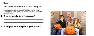Pumpkin, Pumpkin, We Like Pumpkin!