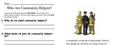 Who Are Community Helpers?