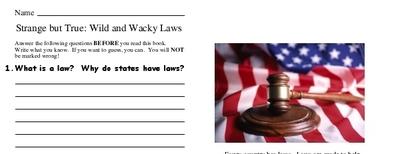 Strange but True: Wild and Wacky Laws