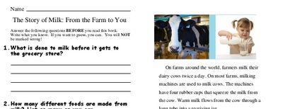 The Story of Milk: From the Farm to You