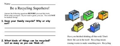Be a Recycling Superhero!