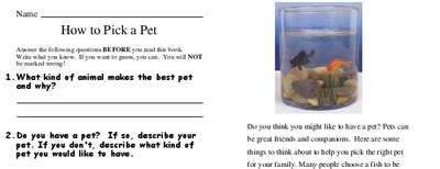 How to Pick a Pet
