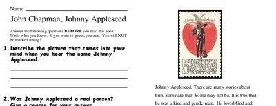 John Chapman, Johnny Appleseed