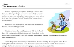 The Adventures of Alice