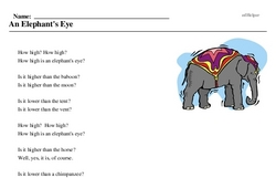 Celebrate the Circus Week<BR>An Elephant's Eye