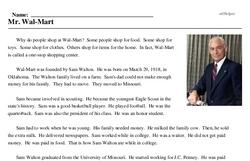 Mr. Wal-Mart