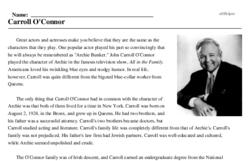 Carroll O'Connor