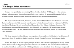 Will Steger, Polar Adventurer