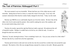 The Tale of Patricius: Kidnapped! Part 1