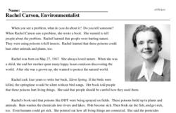 Rachel Carson, Environmentalist