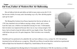 Ed Yost, Father of Modern Hot Air Ballooning