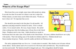 What Is a Fire Escape Plan?