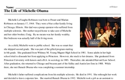The Life of Michelle Obama
