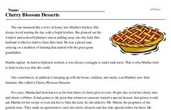 Cherry Blossom Desserts