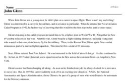 John Glenn Orbits the Earth<BR>John Glenn