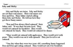 Icky and Sticky