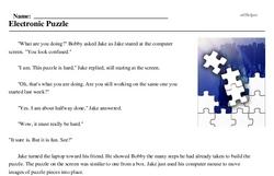 Electronic Puzzle