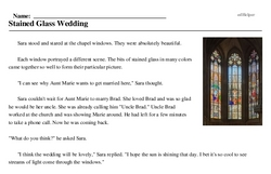 Stained Glass Wedding