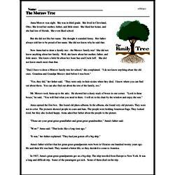 Print <i>The Morzov Tree</i> reading comprehension.