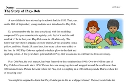 National Play-Doh Day<BR>The Story of Play-Doh