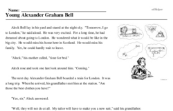 Alexander Graham Bell Day<BR>Young Alexander Graham Bell