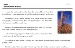 Tumbleweed Day<BR>Tumbleweed Ranch