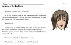 Jasmine's Big Problem