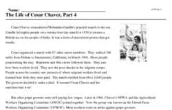 The Life of Cesar Chavez, Part 4