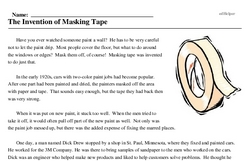 The Invention of Masking Tape